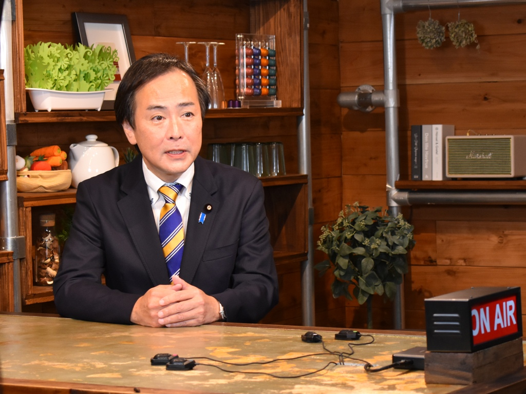国民民主党東京都総支部連合会の広報活動の一つして、ビデオ収録…
