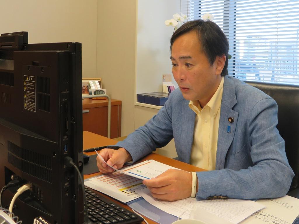 旭化成労働組合川崎支部のみなさんへ、WEBで国政報告をさせて…