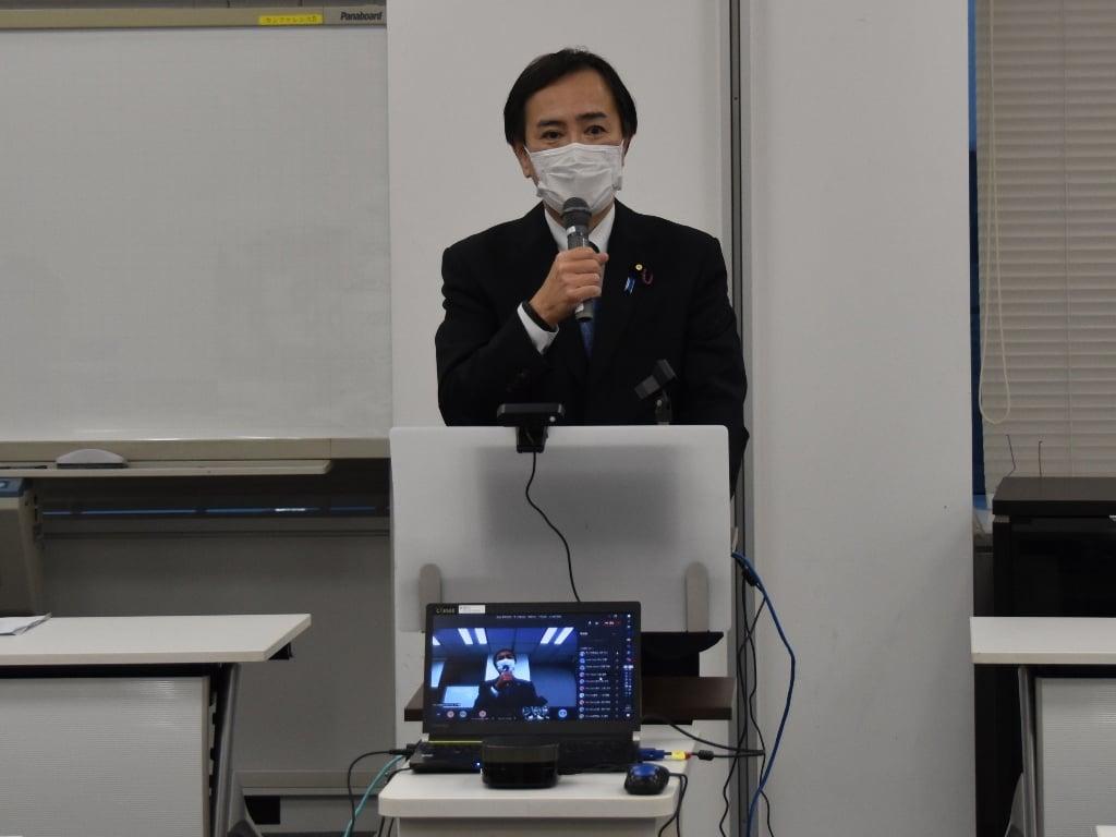 帝人労働組合東京支部「結成大会」のみなさんへご挨拶をさせてい…